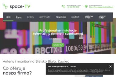 SPACE-TV - Montaż anten Bielsko-Biała