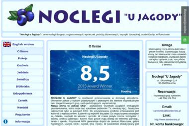 """Noclegi """"U Jagody"""" - Noclegi Rzeszów"""