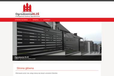 Ogrodzenia KLIŚ - Profesjonalne Systemy Ogrodzeniowe - Ogrodzenia betonowe Bystra