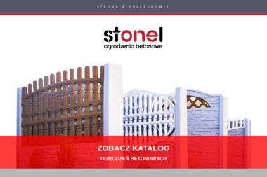 Stonel - Ogrodzenia Betonowe - Panele Betonowe Dobrzyjałowo