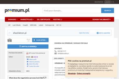 Shackleton Techniki Alpinistyczne - Renowacja Elewacji Katowice