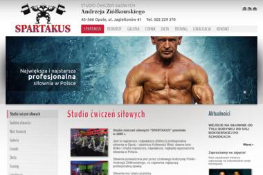 Spartakus - Studio Ćwiczeń Siłowych - Siłownia Opole