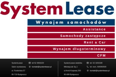 System Lease - Wypożyczalnia samochodów Bydgoszcz