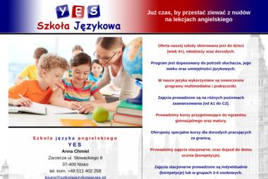 Szkoła języka angielskiego YES - Nauczyciele angielskiego Nisko