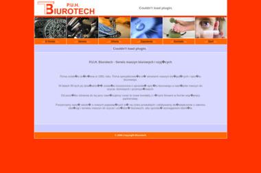 P.U.H. Biurotech - Serwis sprzętu biurowego Koszalin