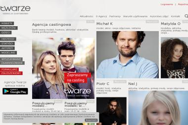 Twarze - Agencja castingowa - Agencja Fotomodelek Kraków