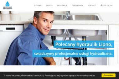 """Kontakt -Usługi Hydrauliczne """"SZUWAREK"""" - Instalacje sanitarne Łochocin"""