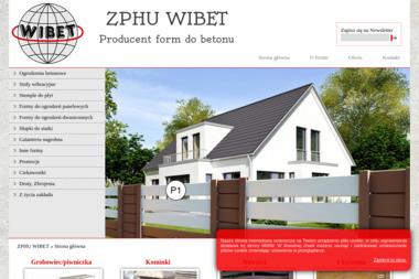 ZPHU WIBET - Ogrodzenia Betonowe Dwustronne Tomaszów Mazowiecki