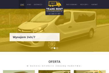 Trans-Rent 24/7 - Wypożyczalnia samochodów Jaworzno