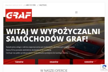 Home GRAF - Wypożyczalnia samochodów Tarnów