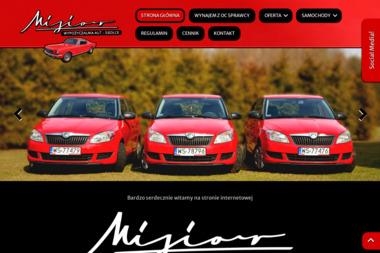 Misior | Wypożyczalnia samochodów - Wypożyczalnia samochodów Żelków-Kolonia