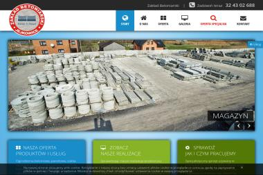Zakład Betoniarski - Ogrodzenia betonowe Jejkowice