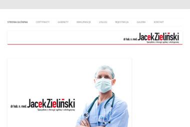 Lekarz Onkolog - dr hab.n.med. Jacek Zieliński - Onkolog Gdańsk