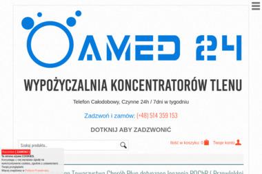 Koncentratory Tlenu   Wypożyczalnia Amed24 - Sprzęt rehabilitacyjny Warszawa