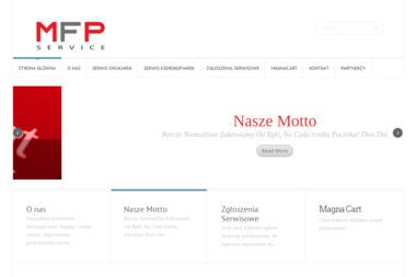 MFP Service - Serwis sprzętu biurowego Warszawa