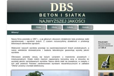 DBS - Ogrodzenia betonowe Dubiecko