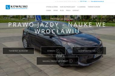Przemysław Kowalski - Szkoła Jazdy Wrocław