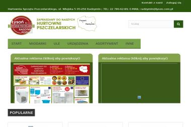 Hurtownia Sprzętu Pszczelarskiego - Pszczelarstwo Radzymin