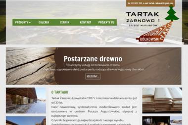 Tartak Rółkowski - Tartak Augustów