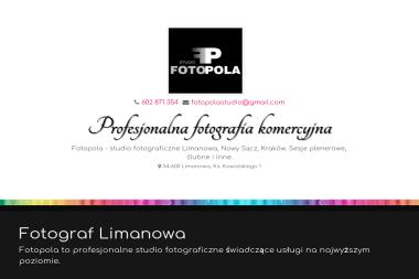 Fotopola - Sesje zdjęciowe Limanowa
