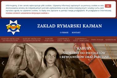 Zakład Rymarski Kajman - Rymarstwo Warszawa