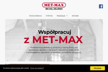 MET-MAX - Balustrady Stryków