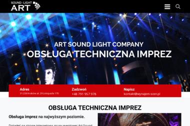 Art Sound Light Company - Nagłośnienie, oświetlenie Kraków