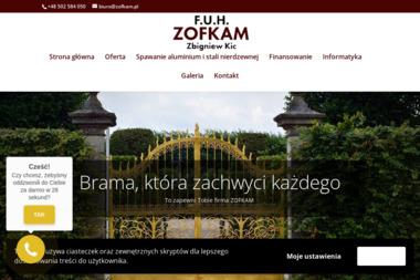 ZOFKAM - Montaż ogrodzenia Kobylanka