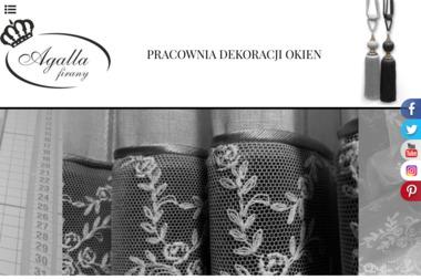 Salon Dekoracji Okna Agalla - Szycie Firan i Zasłon Bydgoszcz