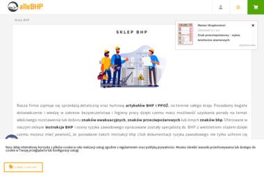 Sklep alleBHP.pl - Sklep internetowy Nowa Sól