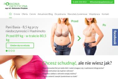 Poradnia Dietetyczna Aleksandra Porębska - Odchudzanie Kielce