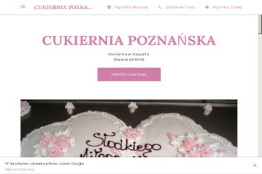 CUKIERNIA POZNAŃSKA - Cukiernia Koszalin