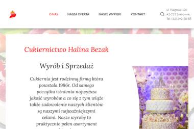 Cukiernictwo Halina Bezak - Cukiernia Sosnowiec