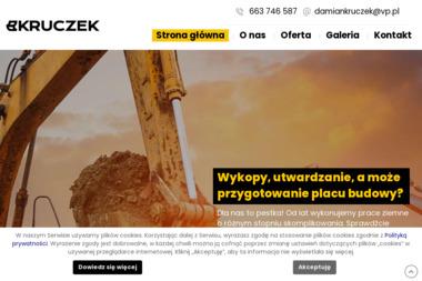 Damian Kruczek - prace ziemne i budowlane - Firma Brukarska Wolin