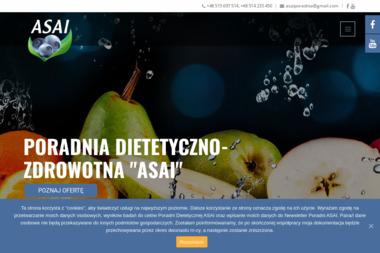 Poradnia Dietetyczno-Zdrowotna - ASAI - Dietetyk Biała Podlaska