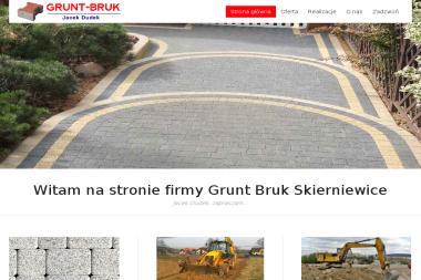 Grunt Bruk - Układanie kostki brukowej Skierniewice