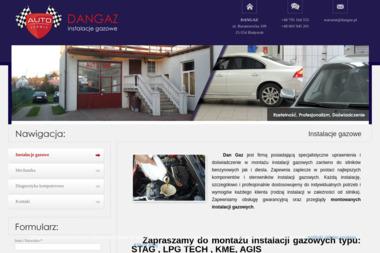 Dan Gaz - Montaż Instalacji LPG Białystok