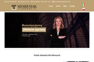 Adwokat Włochy Kancelaria Adwokacka Joanna Siemieniak - Prawo cywilne Napole