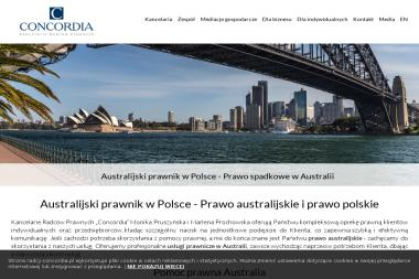 """Kancelaria Radcy Prawnego """"Concordia"""" - Usługi Prawne Katowice"""