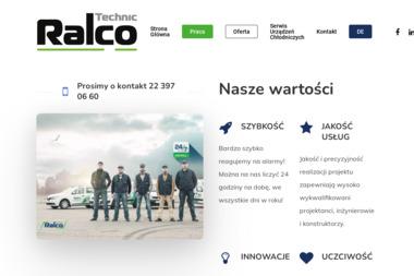 RALCO TECHNIC SP Z O O - Chłodnictwo Warszawa