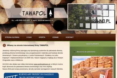 F.H.U.P. TAWAPOL - Drewno Opałowe Nowy Żmigród