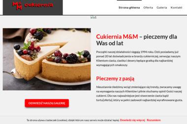 """Wytwórnia Ciast i Lodów """"M&M"""" s.c. - Usługi Kulinarne Świętochłowice"""