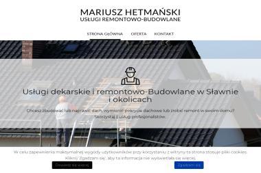 Usługi Remontowo-Budowlane Mariusz Hetmański - Usługi Dekraskie Postomino