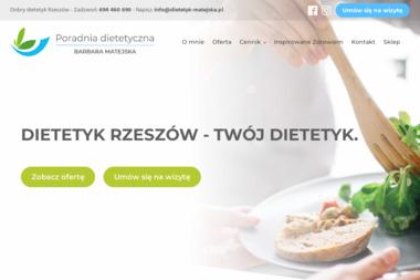 Poradnia Dietetyczna Barbara Matejska - Dietetyk Rzeszów