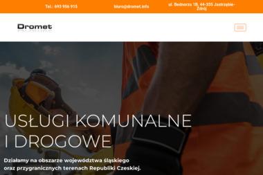 DROMET S.C. - Układanie kostki brukowej Jastrzębie-Zdrój