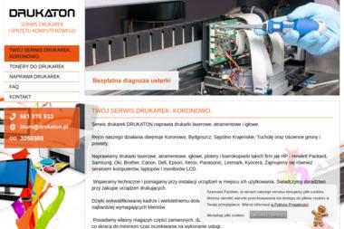 DRUKATON - Serwis sprzętu biurowego Koronowo