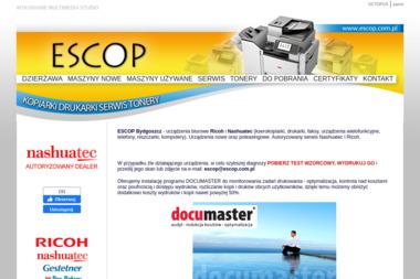 Zakład Handlowo-Usługowy ESCOP - Serwis sprzętu biurowego Bydgoszcz