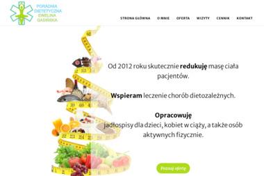 Poradnia Dietetyczna - mgr Ewelina Gasińska - Dietetyk Wałbrzych