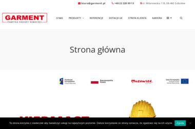 Fabryka Odzieży GARMENT Tomasz Pełka - Hafciarnia SOBOLEW