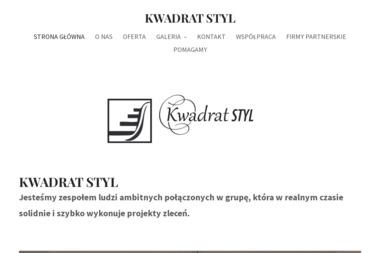 Kwadrat Styl - Balustrady Balkonowe Głogów